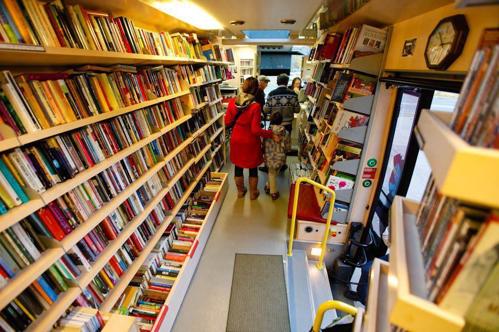В Івано-Франківську вулицями міста їздитиме книжкобус